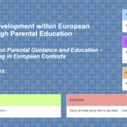 European Days on Parental Guidance and Education – Positive Parenting in European Contexts