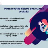 Patru realități despre dezvoltarea copilului