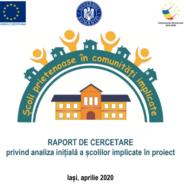 RAPORT DE CERCETARE privind analiza inițială a școlilor implicate în proiect