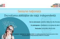 Sesiune Națională – Dezvoltarea abilităților de viață independentă – Asociația HoltIS