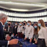 Clubul HoltIS Nr.11 HOPE Bacău invitat la Strasbourg de către Parlamentul European